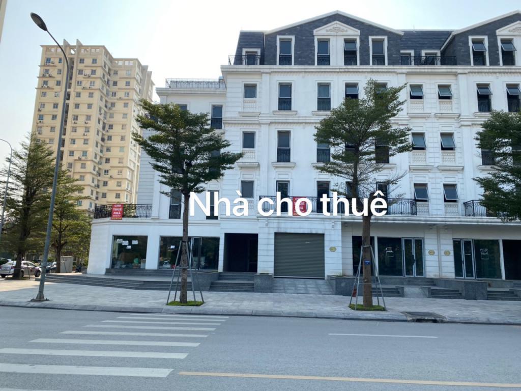 Cho thuê nhà mặt phố nguyễn chánh 257m2 x 5 tầng