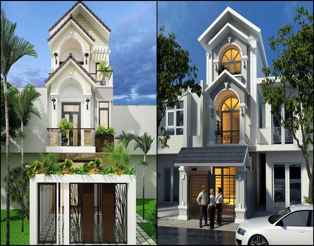 Kho mẫu thiết kế nhà phố hiện đại năm 2021 được cập nhật mỗi ngày