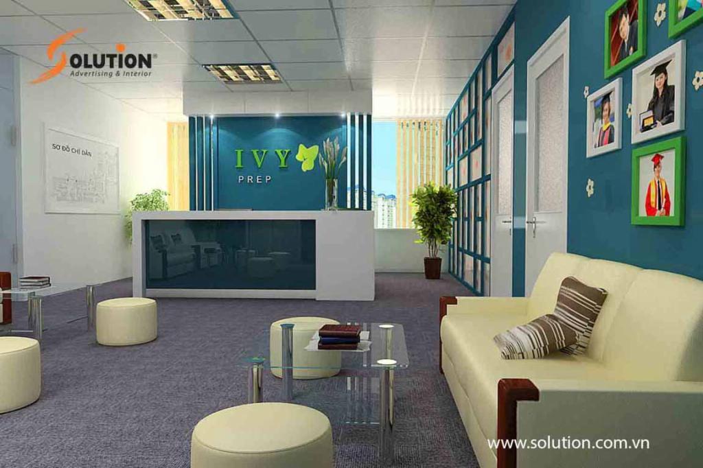 Thiết kế thi công nội thất văn phòng AVY