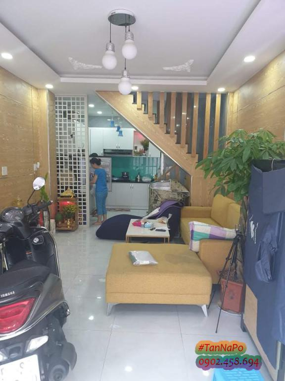 Bán Nhà Đường Nguyễn Khuyến Phường 12 Quận Bình Thạnh 38m2 4.65 tỷ