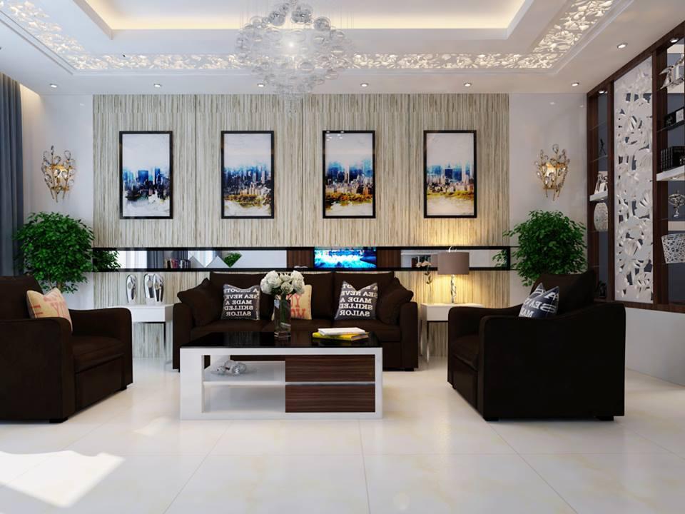 Thiết kế nội thất biệt thự 3.5 tầng Chú Hòa - Đông Anh - Hà Nội !