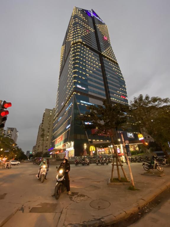 Cho thuê văn phòng hạng A đường Phạm Hùng Cầu Giấy