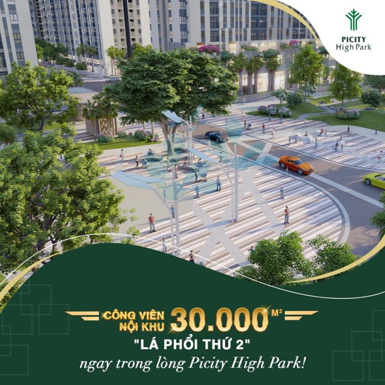 Dự án Picity High Park Thạnh Xuân q12