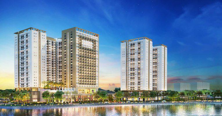 Bán căn hộ Richmond City, Nguyễn Xí, 65.8m2, tầng cao, 3,4 Tỷ.