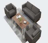 Sofa vải văn phòng