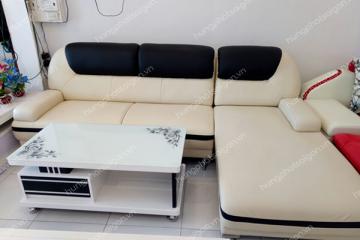 Sofa da tiện lợi