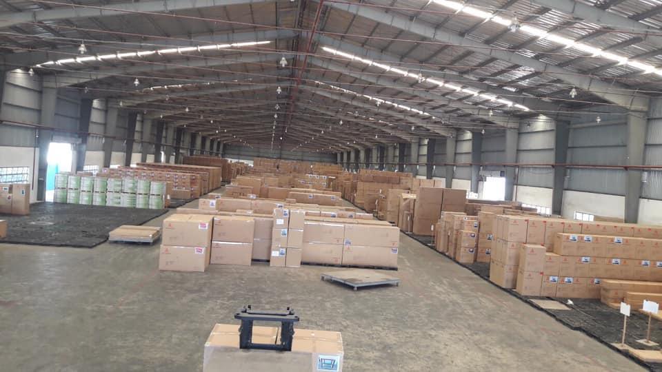 Cho thuê nhà xưởng 3500 m2 KCN Tân Đức, Long An