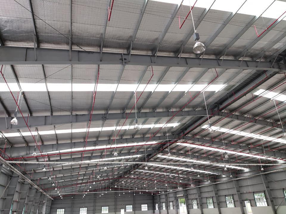 Cho thuê nhà xưởng 8600 m2 KCN Hải Sơn GĐ 3+4, Đức Hòa, Long An