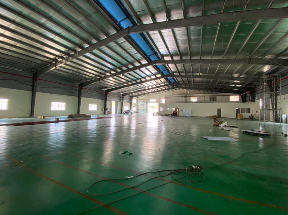 Cho thuê nhà xưởng xây mới 10.000m2 trong KCN Hải Sơn, Đức Hòa,Long An