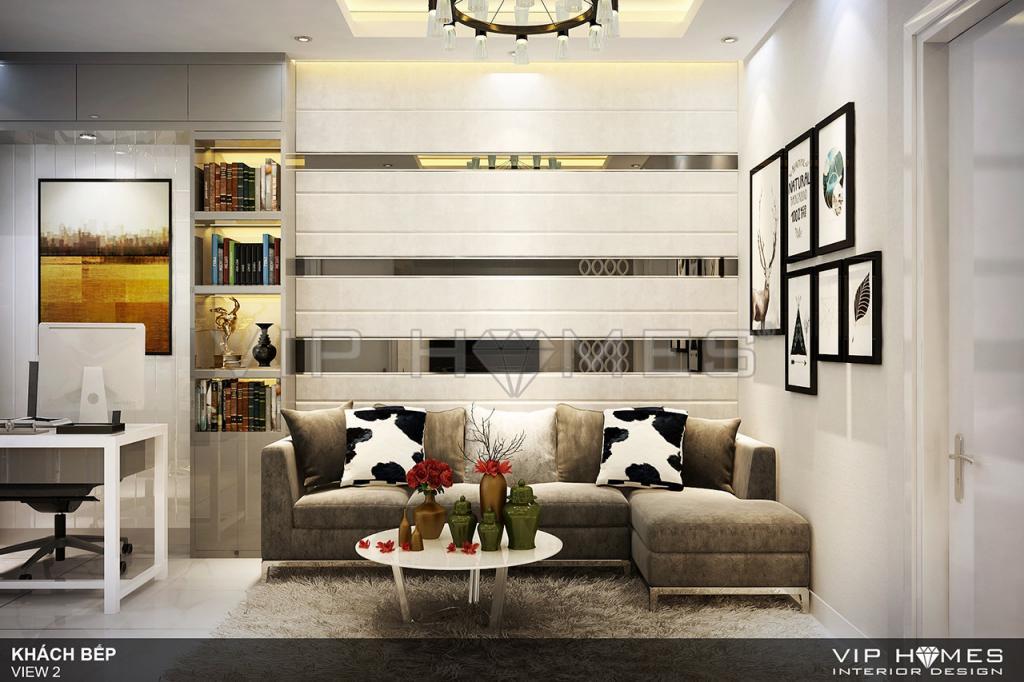 Thiết kế nội thất căn hộ chung cư An Lộc phong cách hiện đại