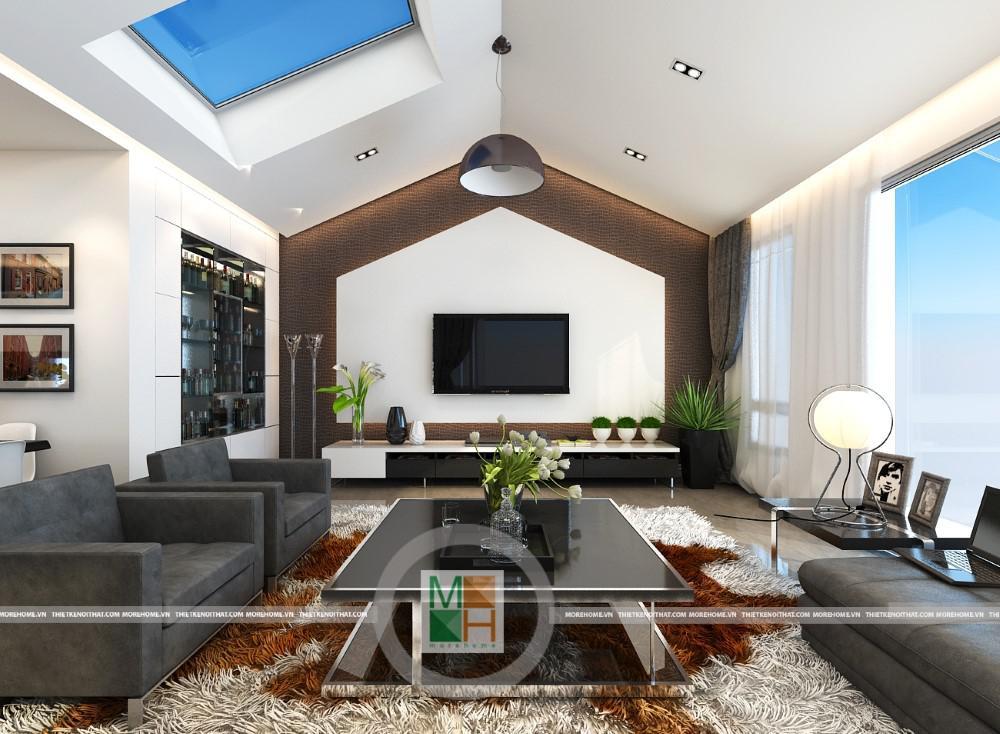 Thiết kế nội thất nhà phố thái thịnh - Anh Hải !