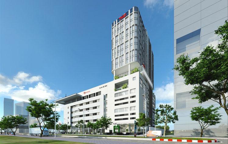 Cho thuê văn phòng tại tòa nhà Toyota Phạm Hùng, Tôn Thất Thuyết - Từ Liêm- Hà Nội.