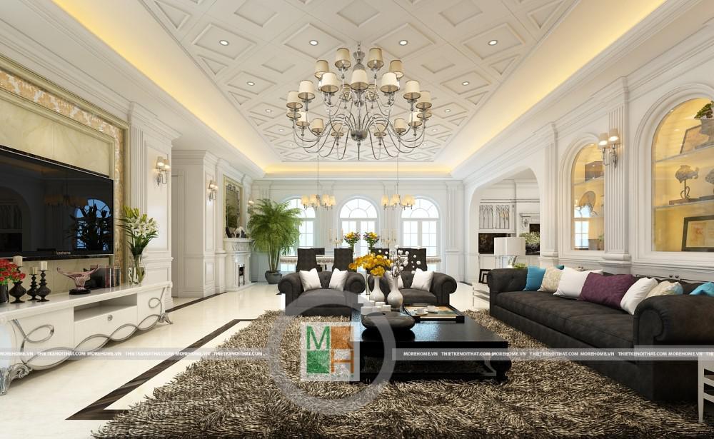 Thiết kế nội thất nhà phố của Chị Nhung !