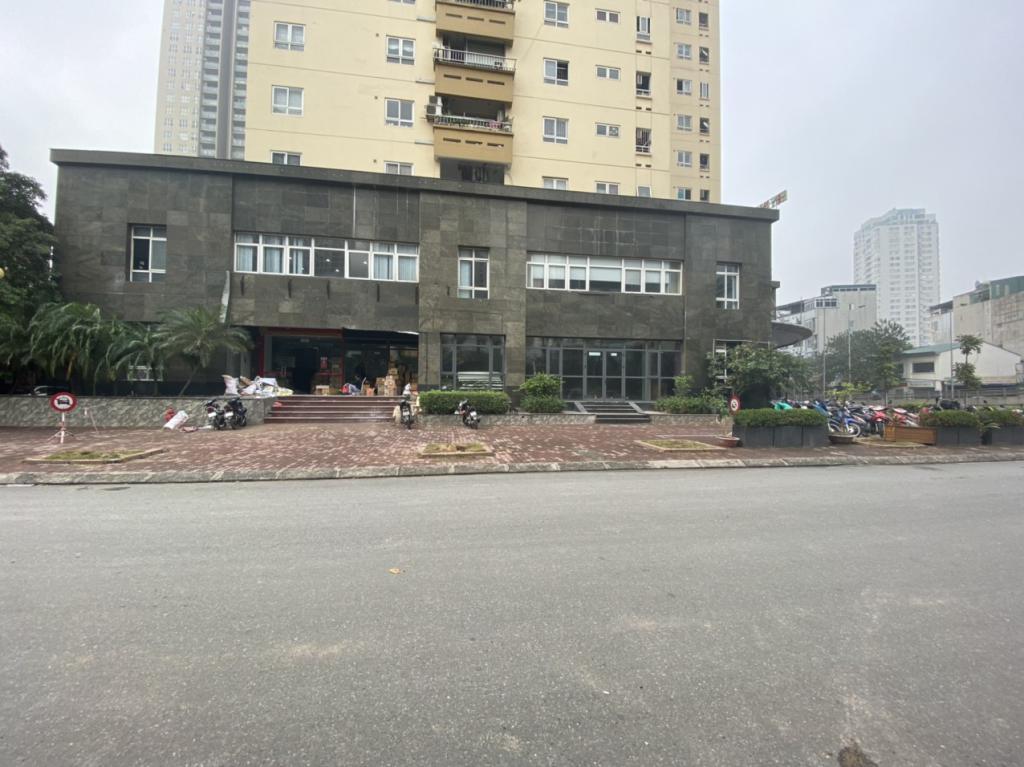Cho thuê mặt bằng tầng 1 chung cư Vimeco đường Nguyễn Chánh, Trung Hoà, Cầu Giấy