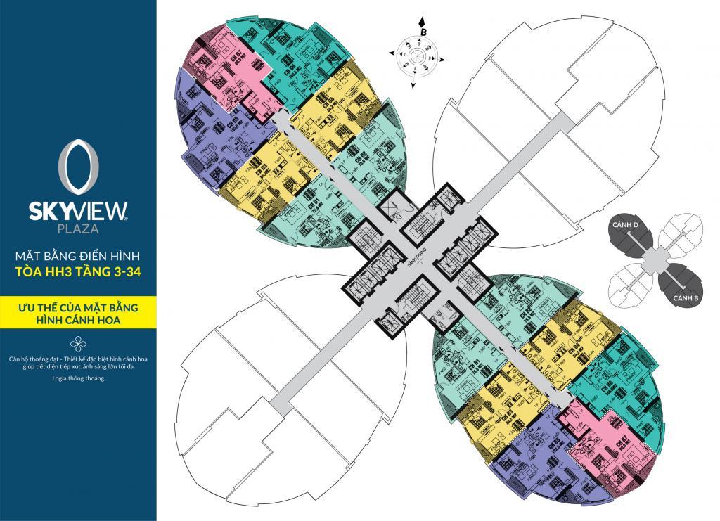 Sky View Plaza Q Hai Bà Trưng - Biểu tượng mới bất động sản phía Nam - Mở bán chính thức 5/1/2019