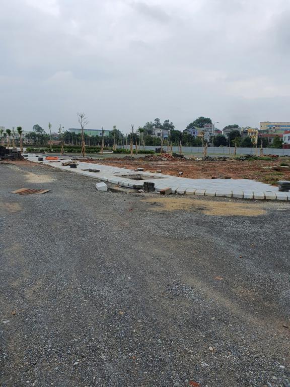 Bán lô liền kề 100m2 khu đường Nguyễn Khoái, Vĩnh Yên, sổ đỏ trao tay,