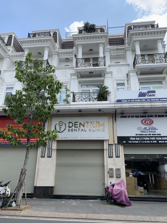 Cho thuê 2 căn liền kề mặt tiền Trần Thị Nghỉ Cityland Center Hills, có thang máy, giá 50tr/th.