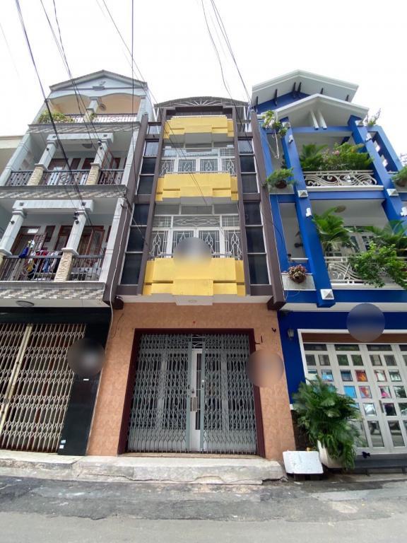 CHDV Nguyễn Kiệm 4.5x14 Trệt 3Lầu-ST 7PN 7WC Giá 22Tr/th
