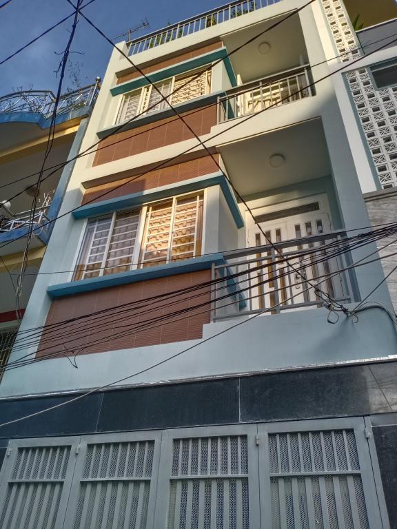 Bán nhà 4 tầng mặt tiền đường Dân Tộc, phường Tân Thành, Tân Phú, 12 tỷ