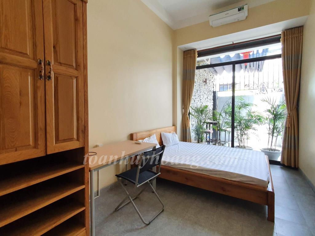 ID: V0258; Cho thuê villa khu An Thượng 130m2, 3 phòng ngủ, full nội thất hiện đại