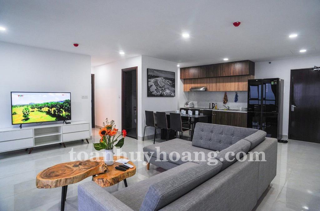 ID: A0199; Cho thuê căn hộ Ocean View 96m2, 2 phòng ngủ, full nội thất