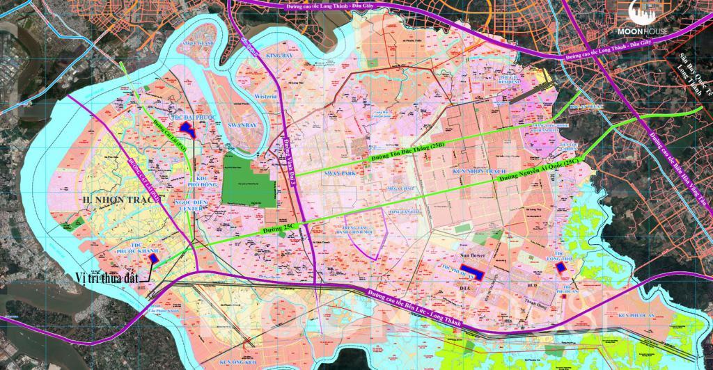 Bán đất nền Khu Tái Định cư , Xã Phước Khánh , Huyện Nhơn Trạch chính chủ , sổ riêng , full thổ, Dt :154m2