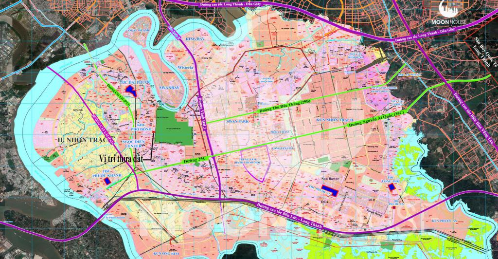 Cần bán đất dân, xã Phú Đông , giá: 4tỷ240tr, sồ hồng riêng , chính chủ , full thổ