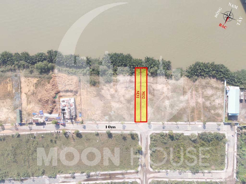 Chủ cần bán gấp 2 lô đất nền Biệt Thự  KDC Đảo Kim Cương Quận 9 ngay bên sông Tắc cực đẹp