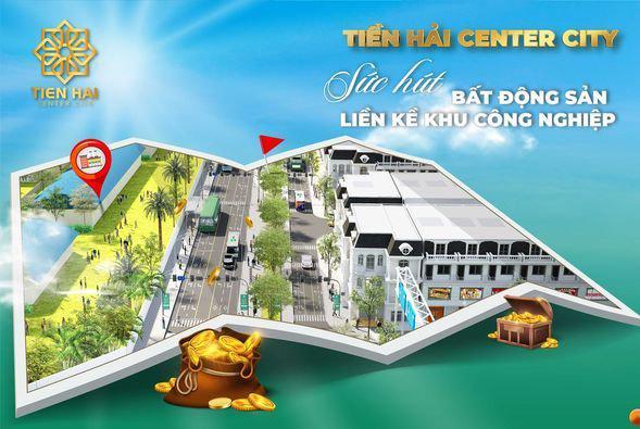 Bán đất nền KCN, tổ hợp tiện ích hiện đại nhất Tiền Hải
