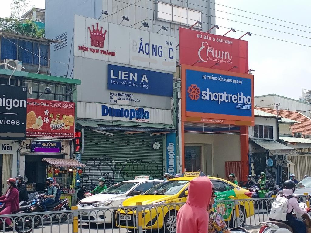 Bán nhà mặt tiền đường Nguyễn Thị Minh Khai, phường Phạm Ngũ Lão, quận 1, 58 tỷ
