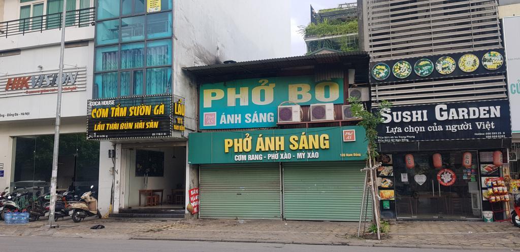 Bán 165m2 nhà mặt phố Hồ Đắc Di Nam Đồng Đống Đa kinh doanh 25 tỷ..